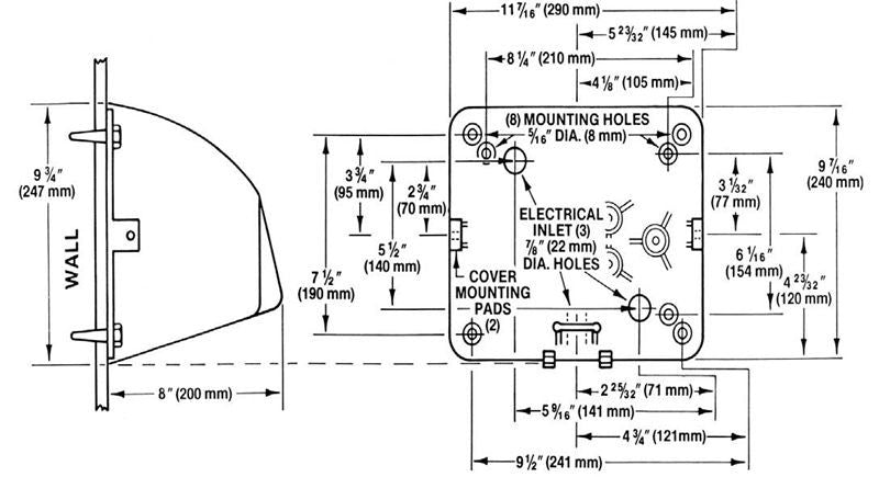ho ic, excel dryer hands off automatic chrome surface mounted hand dryer  xlerator hand dryer wiring diagram #9
