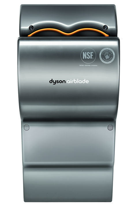 DYSON Airblade AB04, Gray 120V Hand Dryer (DISCONTINUED & No Longer Available; Replaced by the DYSON AB-14 dB)