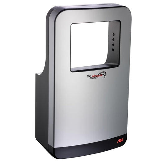 <strong>CLICK HERE FOR PARTS</strong> for the ASI 20200 (Silver/Black) TRI-Umph HAND DRYER-ASI (American Specialties, Inc.)-Allied Hand Dryer
