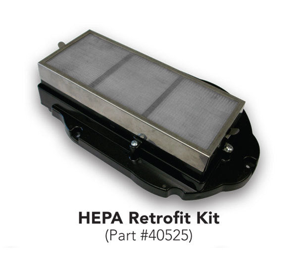 40525, Excel XLERATOR Certified HEPA Filter Retro Fit Kit - PART #40525 - Allied Hand Dryer