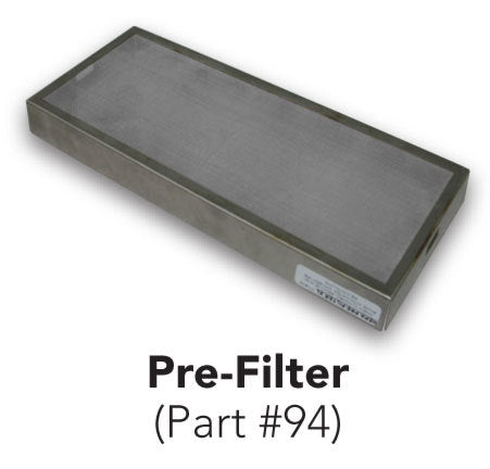 94, Excel XLERATOR HEPA PRE-FILTER (Replacement Only) - PART #94-Our Hand Dryer Manufacturers-Excel-Allied Hand Dryer