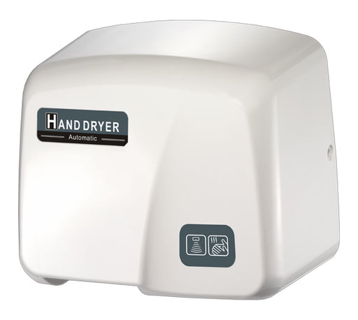 HK1800PA, FastDry Automatic White ABS Hand Dryer