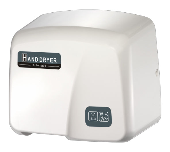 HK1800PA, FastDry Automatic White ABS Hand Dryer-Our Hand Dryer Manufacturers-FastDry-110/120 Volt hard wired-Allied Hand Dryer