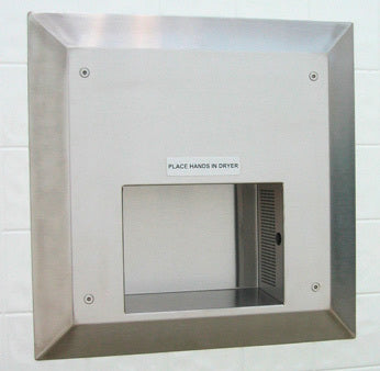 Pinnacle Model PDC-R10 Recessed Automatic ADA Hand Dryer-PINNACLE-Allied Hand Dryer