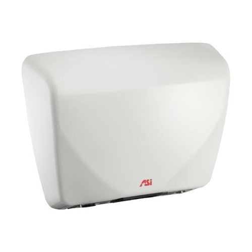 ASI 0185 Profile™ 110V to 240V- Steel Cover Automatic Surface-Mounted ADA Compliant Hand Dryer-Our Hand Dryer Manufacturers-ASI (American Specialties, Inc.)-White-Allied Hand Dryer