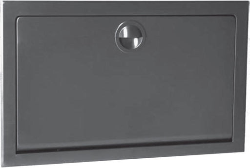 KB110-SSRE, KOALA Recessed Horizontal Stainless Steel Baby Changing Table