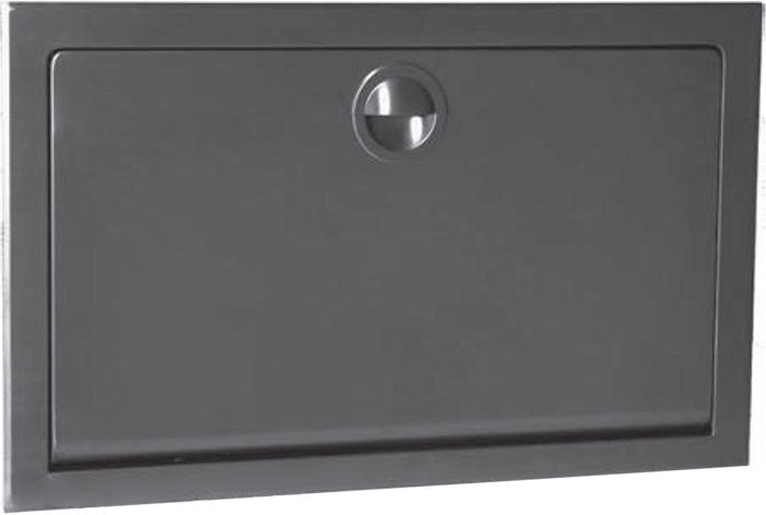 KB110-SSRE, KOALA Recessed Horizontal Stainless Steel Baby Changing Table-Koala-Allied Hand Dryer