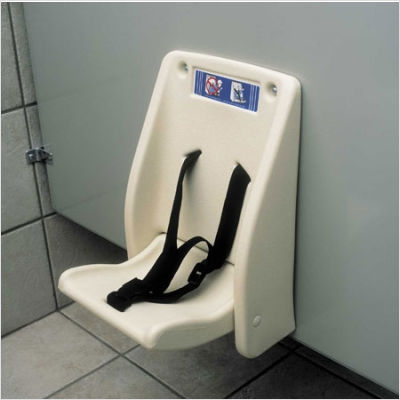 KB102-00, KOALA Cream / Bathroom Child Safety Seat-Our Baby Changing Stations Manufacturers-Koala-Allied Hand Dryer