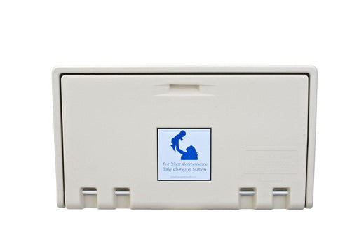 AHD 100-00 Cream Horizontal Baby Changing Station-AHD-Allied Hand Dryer