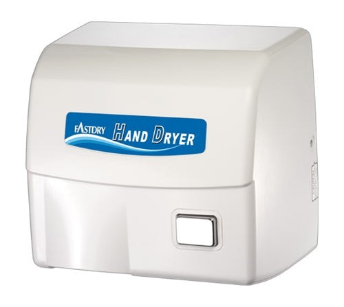 HK1800ES, FastDry White Metal Hand Dryer-Our Hand Dryer Manufacturers-FastDry-110/120 Volt hard wired-Allied Hand Dryer