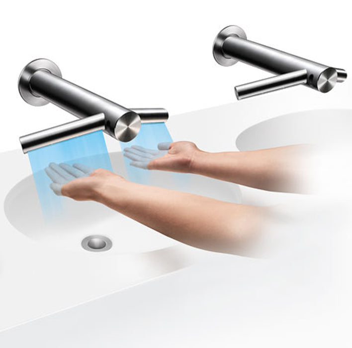 DYSON Airblade Tap AB11 Wall- Wash & Dry Hands at the Sink- 301850-01/301843-01
