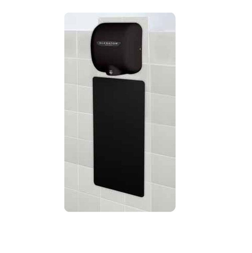 89B, Excel XLERATOR Wall Guard Black (Set of 2)-Excel-Allied Hand Dryer