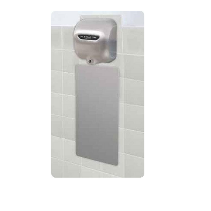 89S, Excel XLERATOR Wall Guard Stainless Steel  (Set of 2)