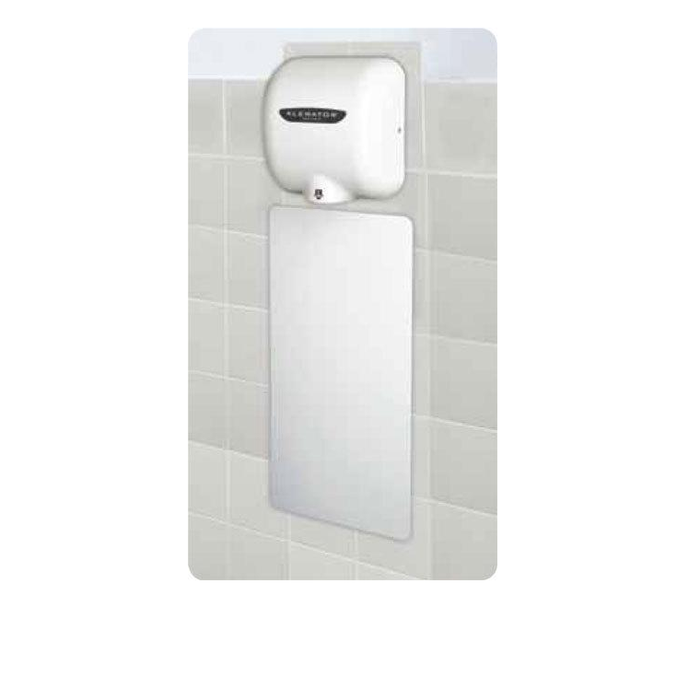89W, Excel XLERATOR Wall Guard White (Set of 2)