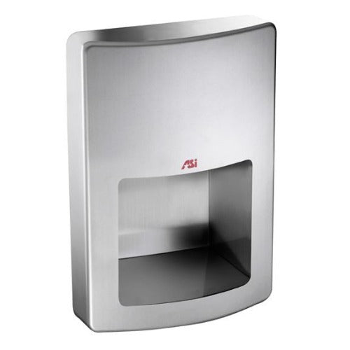 20199, ASI Roval Collection Semi-Recessed Automatic Hand Dryer