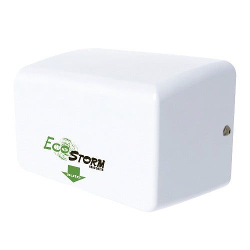 EcoStorm HD0940-17Hand Dryer, Eco Storm, Palmer Fixture HD940-17 WH, High Speed Hand Dryer, White Cover, HD094017-Palmer Fixture-Allied Hand Dryer