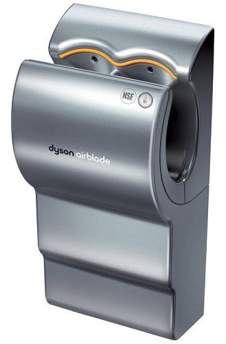 DYSON Airblade AB02, Silver 208V Hand Dryer (DISCONTINUED & No Longer Available; Replaced by the DYSON AB14 dB)-Dyson-Allied Hand Dryer