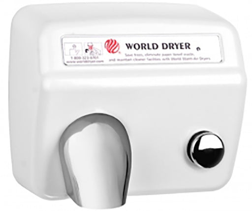 <strong>CLICK HERE FOR PARTS</strong> for the WORLD A5-974 (115V/20Amp) HAND DRYER