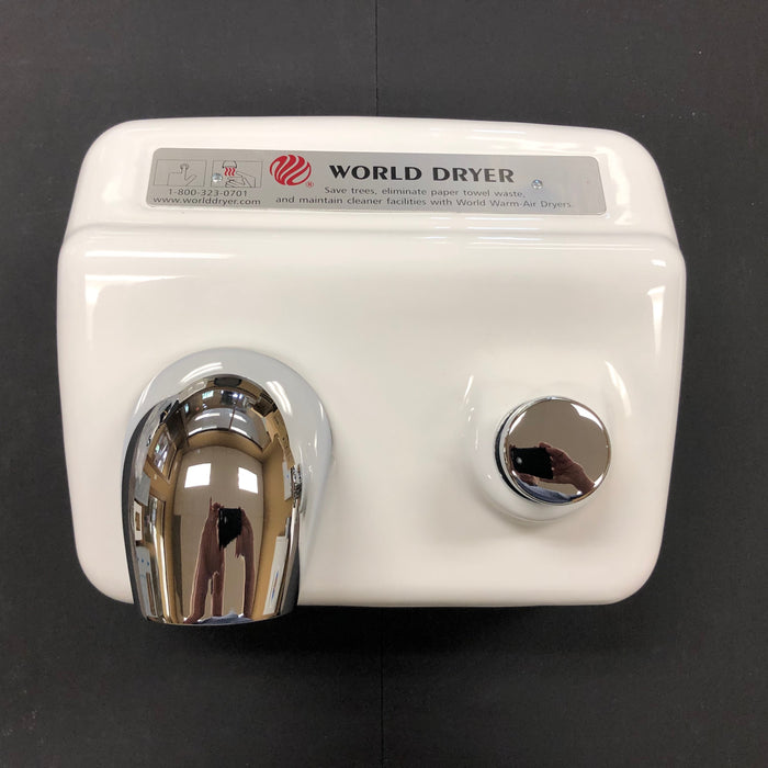 WORLD A54-974 (208V-240V) COVER ASSEMBLY COMPLETE (Part# 70A5-974AK)-World Dryer-Allied Hand Dryer