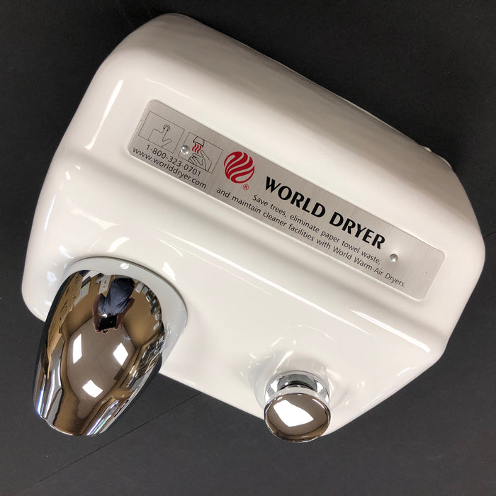 WORLD A5-974 (115V - 20 Amp) COVER ASSEMBLY COMPLETE (Part# 70A5-974A)-World Dryer-Allied Hand Dryer