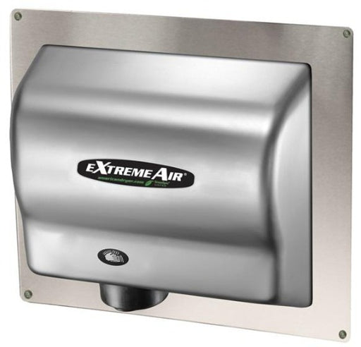 ADA-SS, American Dryer - Stainless Steel RECESS WALL BOX for GX, GXT, EXT, CPC, & AD90 Series - DOES NOT INCLUDE HAND DRYER-American Dryer-Allied Hand Dryer