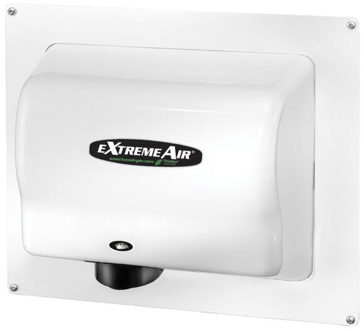 ADA-W, American Dryer - White Steel RECESS WALL BOX for GX, GXT, EXT, CPC, & AD90 Series - DOES NOT INCLUDE HAND DRYER-American Dryer-Allied Hand Dryer