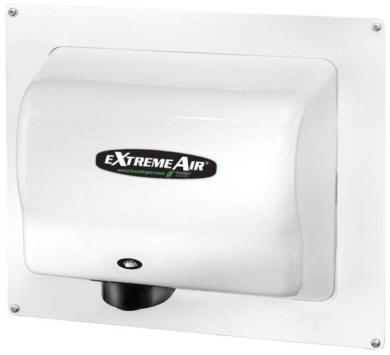 ADA-W, American Dryer - White Steel Recess Kit for GX, GXT9, EXT7, CPC9, & AD90 - DOES NOT INCLUDE HAND DRYER