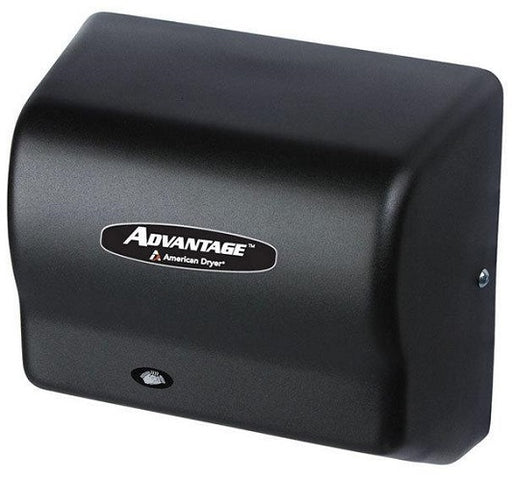 AD90-BG, American Dryer Advantage HAND DRYER - Steel Black Graphite - Auto - Universal Voltage-American Dryer-Allied Hand Dryer
