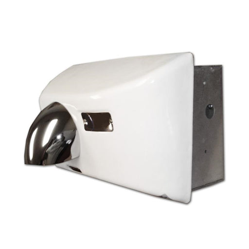 <strong>CLICK HERE FOR PARTS</strong> for the ASI 0158 Recessed PORCELAIR (Cast Iron) AUTOMATIK (208V-240V) HAND DRYER-World Dryer-Allied Hand Dryer