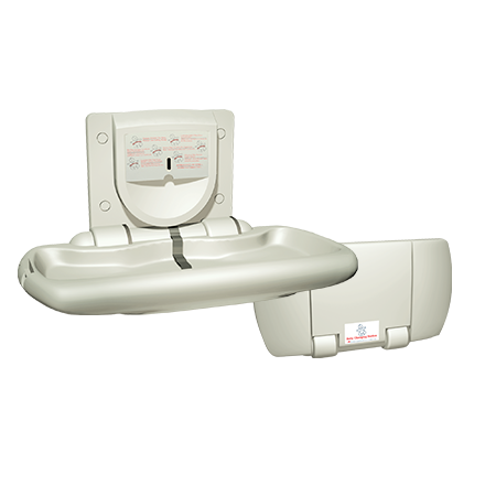 ASI 9012 Horizontal Baby Changing Station-Our Baby Changing Stations Manufacturers-ASI (American Specialties, Inc.)-Allied Hand Dryer