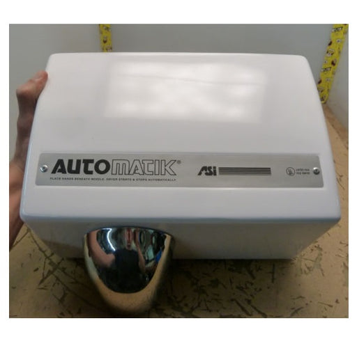 <strong>CLICK HERE FOR PARTS</strong> for the ASI AUTOMATIK (110V/120V) TRADITIONAL Series NO TOUCH HAND DRYER - Allied Hand Dryer