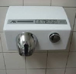 ASI TRADITIONAL Series Push-Button Model (208V-240V) MOTOR (Part# 005240)-ASI (American Specialties, Inc.)-Allied Hand Dryer