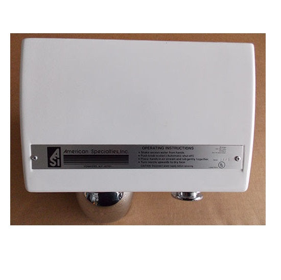 ASI 0110 TRADITIONAL Series Push-Button Model (110V/120V) THERMOSTAT (Part# 005215)-ASI (American Specialties, Inc.)-Allied Hand Dryer