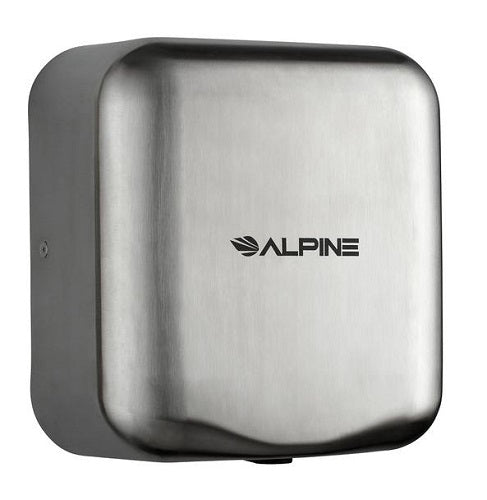ALPINE 400-10-SSB HEMLOCK Stainless Steel (Brushed Finish) High-Speed Hand Dryer-Alpine Industries-Allied Hand Dryer