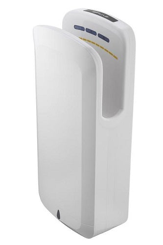 ALPINE ALP404-WHI OAK High-Speed, Surface-Mounted, Hands-In Hand Dryer-Our Hand Dryer Manufacturers-Alpine Industries-Low Voltage (110V/120V), #ALP404-Allied Hand Dryer