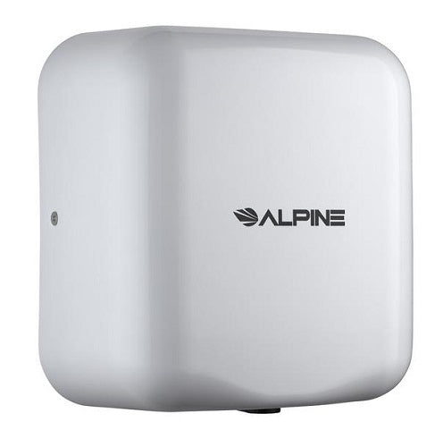 ALPINE 400-10-WHI HEMLOCK Stainless Steel White High-Speed Hand Dryer-Alpine Industries-Allied Hand Dryer
