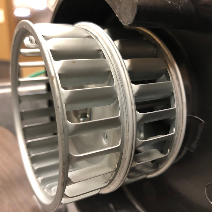 DXRA57-Q973 (277V) METAL FAN SCROLL, BLOWER, SQUIRREL CAGE (Part# 101i, Replaces Plastic Part# 101P)