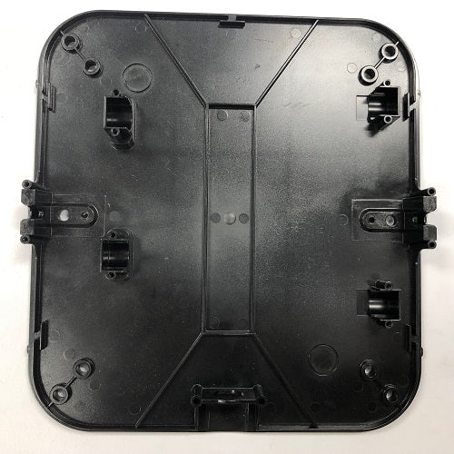 Excel XL-CV XLerator REPLACEMENT BASE PLATE / WALL PLATE (Part Ref. XL 10 / Stock# 40400)-Hand Dryer Parts-Excel-Allied Hand Dryer
