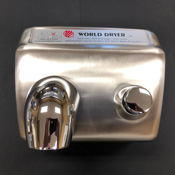WORLD DA54-973 (208V-240V) COVER ASSEMBLY COMPLETE (Part# 72DA5-973K)-Hand Dryer Parts-World Dryer-Allied Hand Dryer