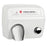 DA5-974, World Dryer Push-Button Stamped Steel White-World Dryer-Allied Hand Dryer