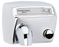 DM548-972, AirMax World Dryer Push-Button, Polished Stainless Steel (50 Hz - NOT for use in North America)-World Dryer-Allied Hand Dryer