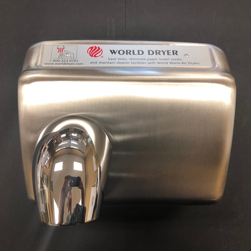 WORLD DXA5-972 (115V - 20 Amp) COVER ASSEMBLY COMPLETE (Part# 72DXA5-972K)-Hand Dryer Parts-World Dryer-Allied Hand Dryer