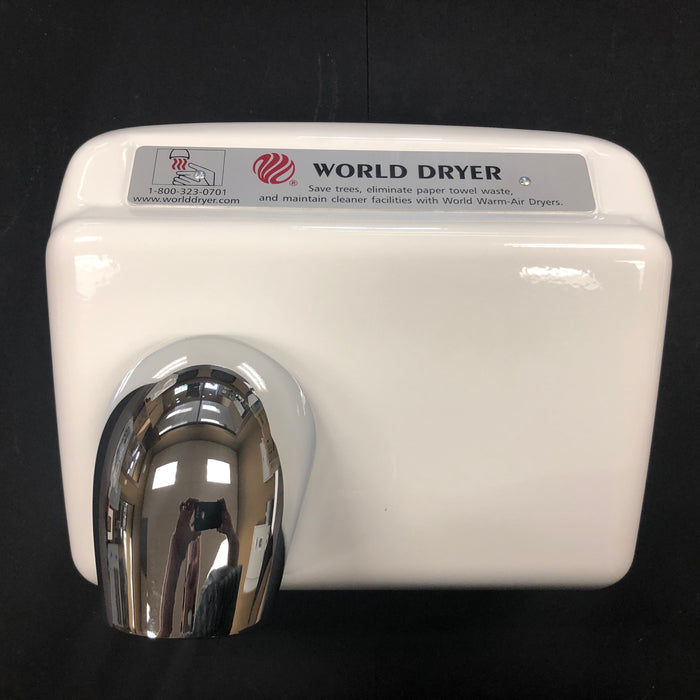 WORLD DXA54-974 (208-240V) COVER ASSEMBLY COMPLETE (Part# 72DXA5-974K)-World Dryer-Allied Hand Dryer