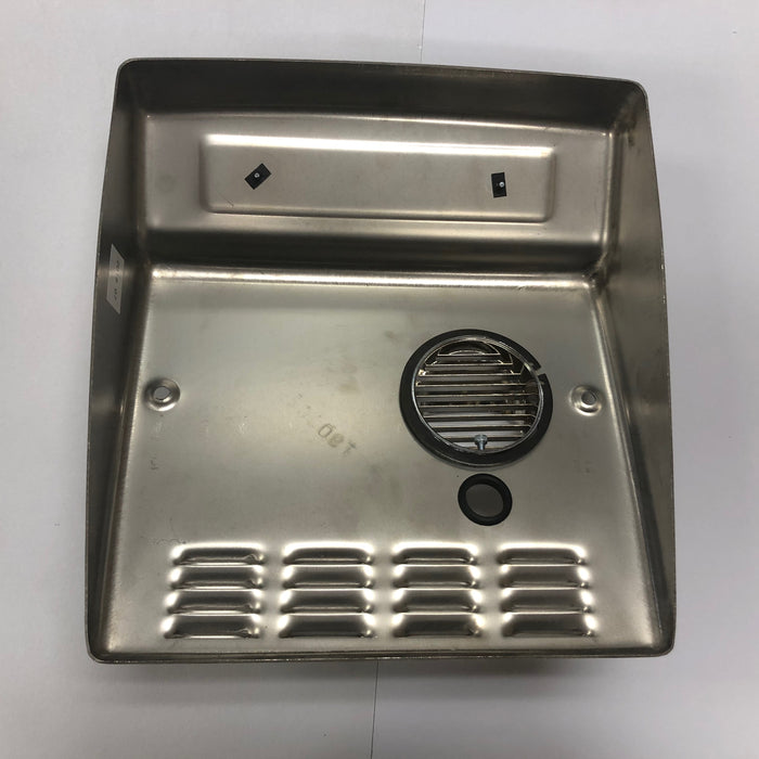 WORLD DXRA54-Q973 (208V-240V) COVER ASSEMBLY COMPLETE (Part# 713DXA) - Allied Hand Dryer