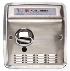 WORLD DXRA5-Q973 (115V - 20 Amp) METAL FAN SCROLL, BLOWER, SQUIRREL CAGE (Part# 101i, Replaces Plastic Part# 101P)-World Dryer-Allied Hand Dryer