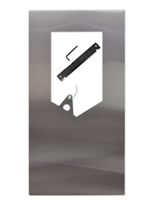 BACK PANEL (STANDARD Length) for DYSON Airblade V Series (AB12 & HU02), Stainless Steel, SKU# 964691-01