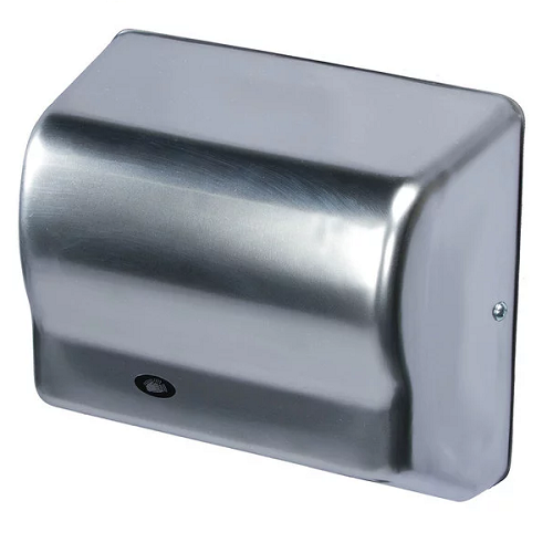 GX1-C, American Global Hand Dryer - Steel Satin Chrome - Auto - 120V-Our Hand Dryer Manufacturers-American Dryer-110/120 Volt-Allied Hand Dryer