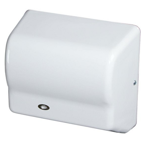 GX1-M, American Global Hand Dryer - Steel White Epoxy - Auto - 120V-Our Hand Dryer Manufacturers-American Dryer-110/120 Volt-Allied Hand Dryer