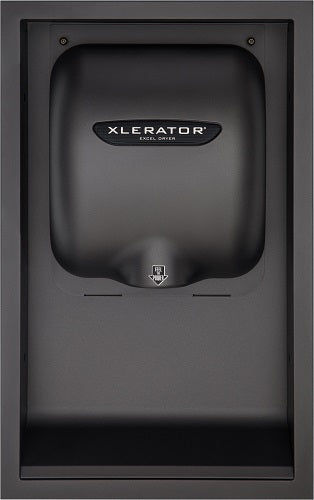 40502, Excel XLERATOR Graphite ADA Recess Kit (DOES NOT INCLUDE HAND DRYER)-Our Hand Dryer Manufacturers-Excel-Graphite-Allied Hand Dryer