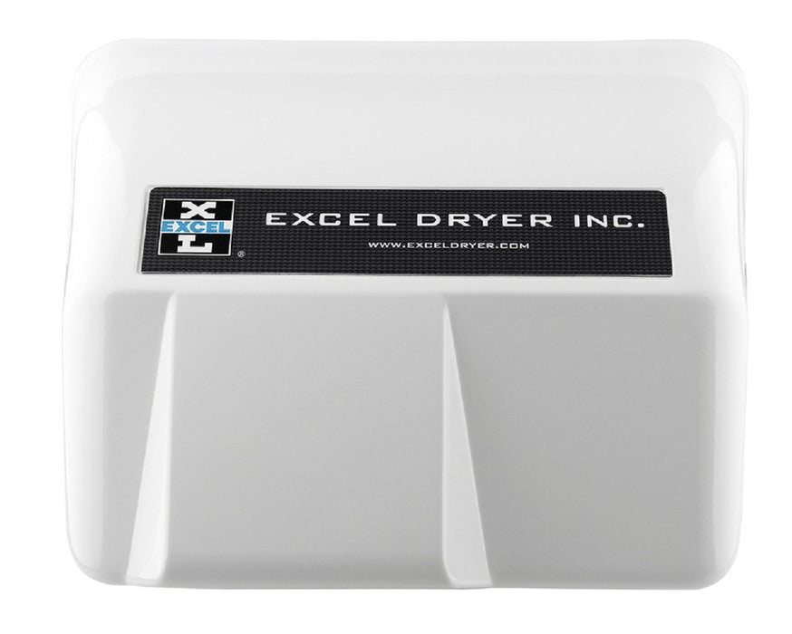 HO-IW, Excel Dryer Hands-Off Automatic White Metal Surface-Mounted Hand Dryer-Our Hand Dryer Manufacturers-Excel-110/120 Volt-Allied Hand Dryer